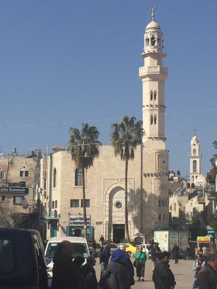 Mosquée Umar Ibn Al Khattab à Bethléhem