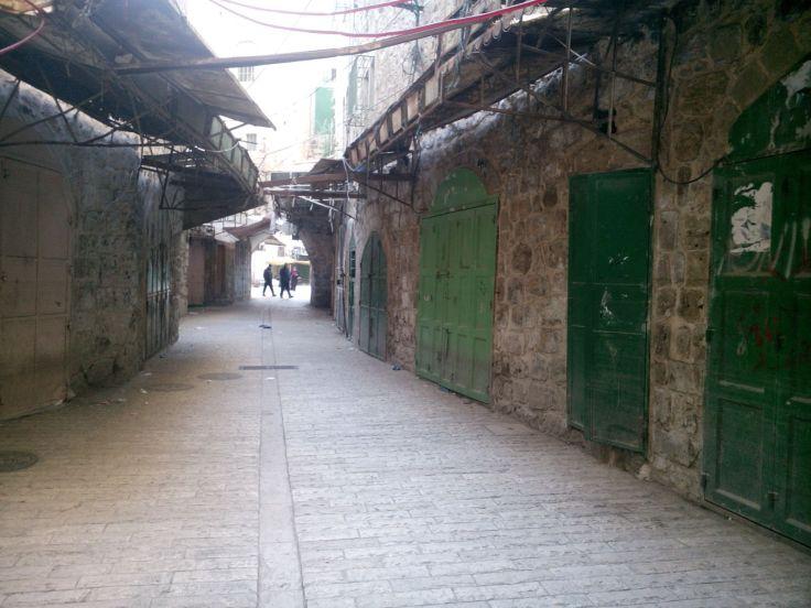 Les rues désertes