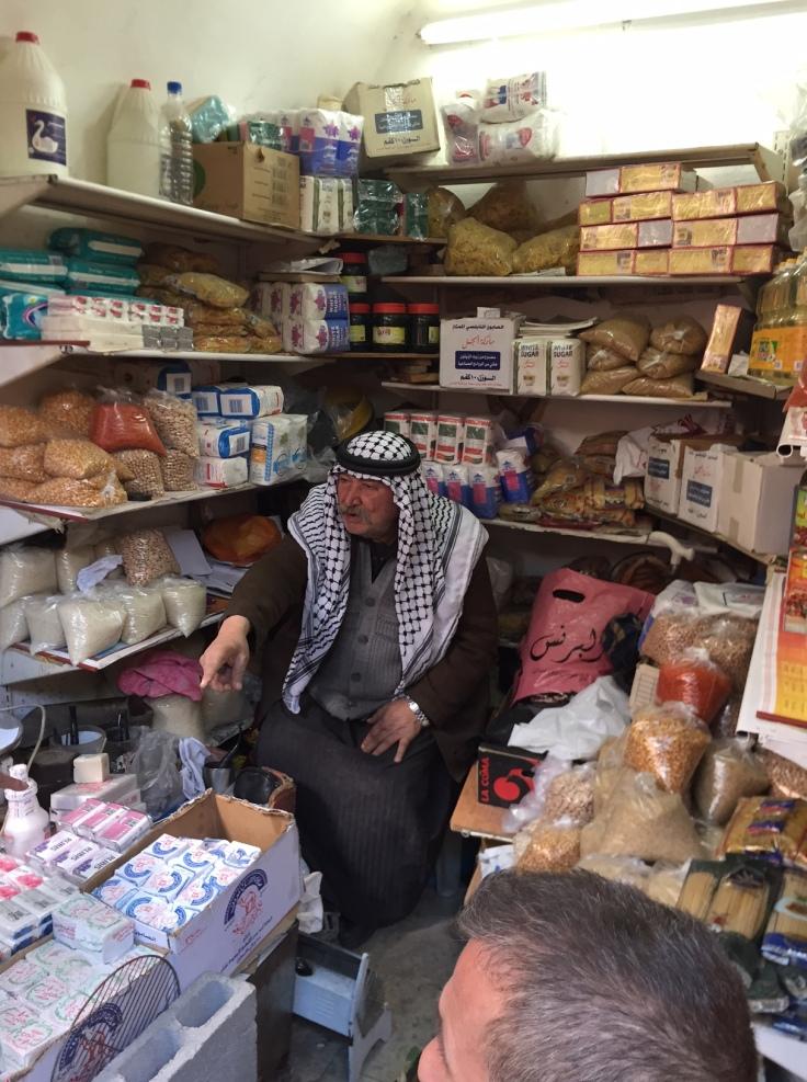 commercant palestinein al khalil