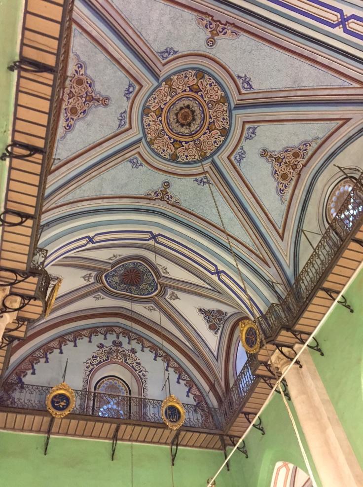 Plafond mosquée Ibrahim