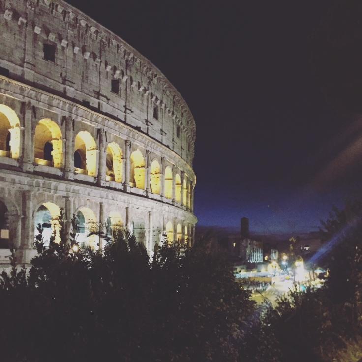 Colisée Rome octobre 2017
