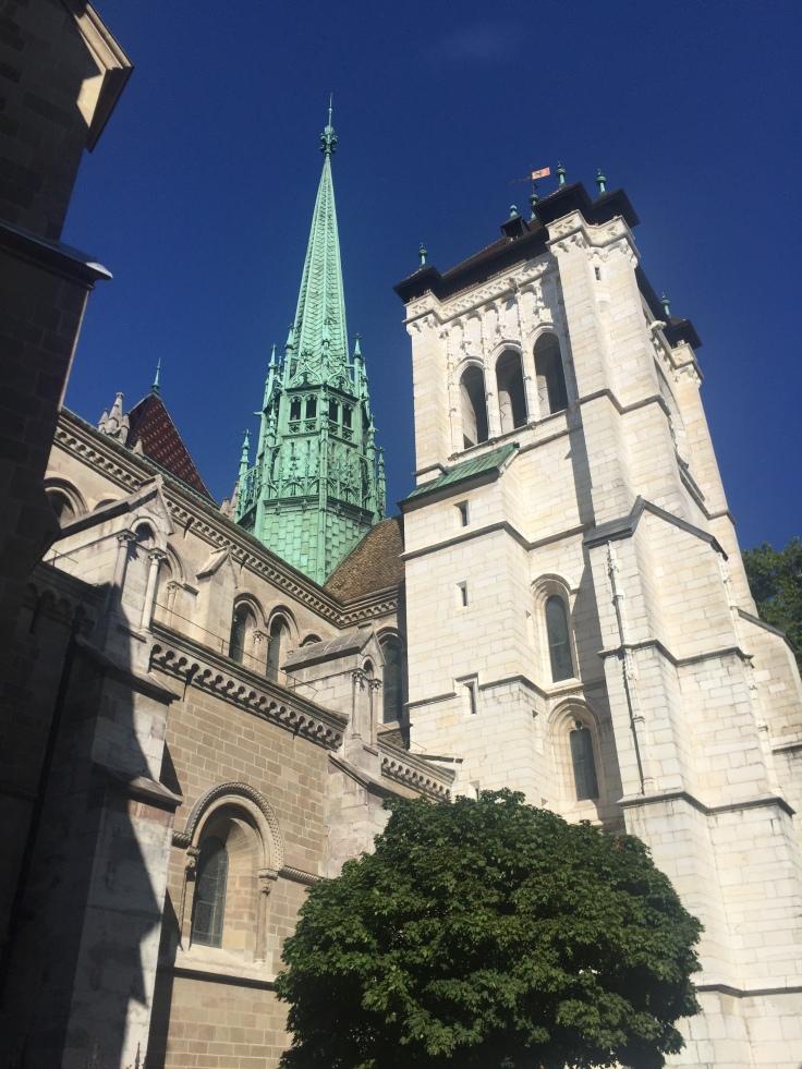 Eglise Genève vieille ville