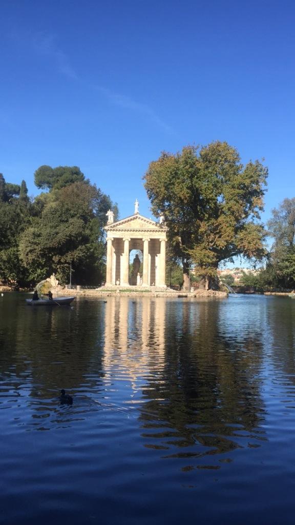 colonne villa borghese Rome