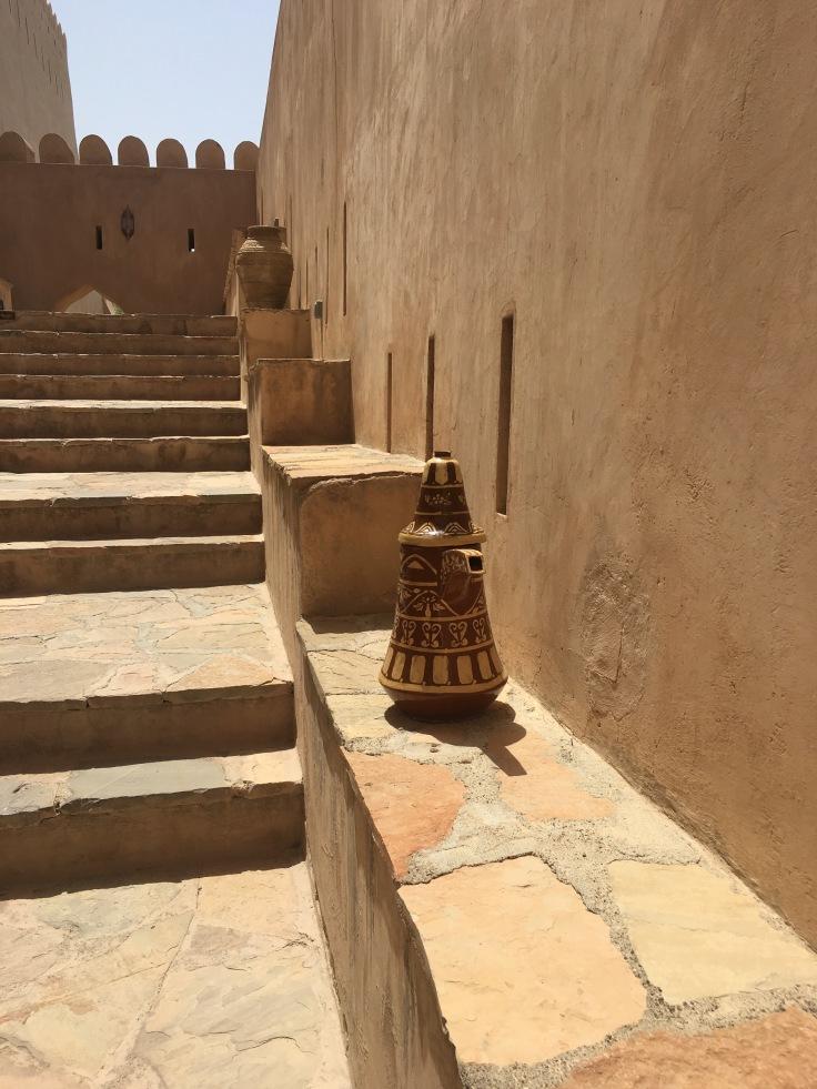Entrée fort Nakhal Oman
