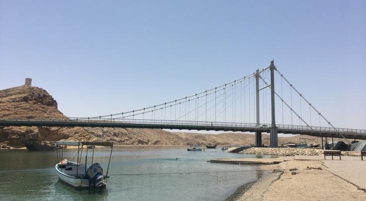Sur Oman pont